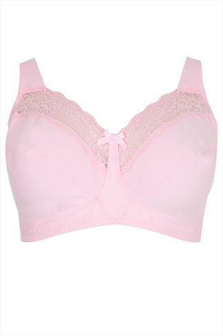 Pale Pink Soft Cup Non-Wired Bra