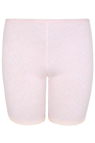 Thigh Smoothers Pink Lace Print Thigh Smoother 146051