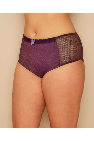 Briefs Purple Berry Mesh Brief 146082