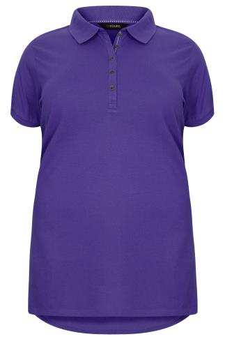 Purple Polo T-Shirt
