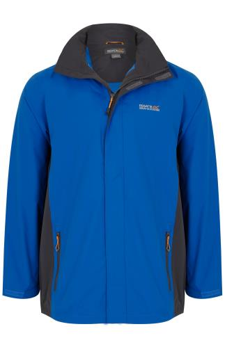 REGATTA Blue & Black Matt Jacket