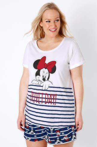 Pyjama Sets Red, White & Blue Disney Minnie Mouse Pyjama Set 148034