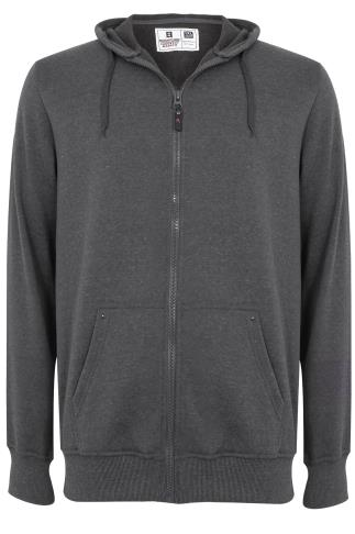 Rockford Grey Zip-Through Hoodie