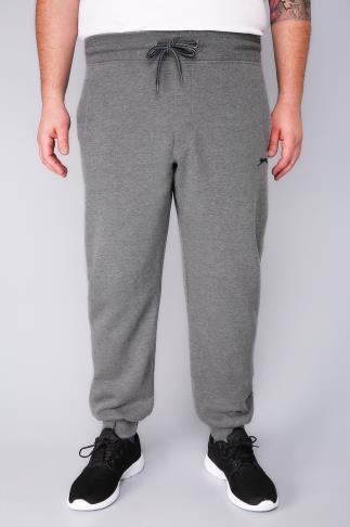 Joggers SLAZENGER Grey Marl Jogging Bottoms 110330
