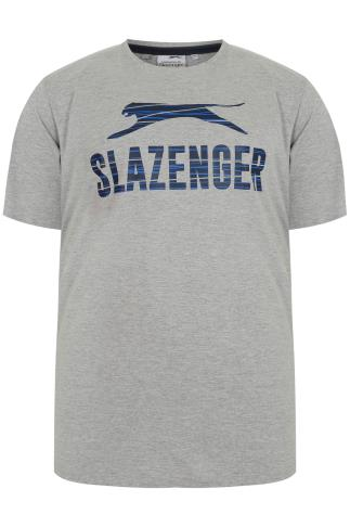 SLAZENGER Grey Short Sleeve T-shirt