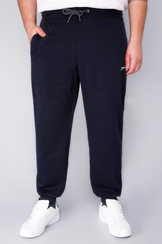 SLAZENGER Navy Jogging Bottoms