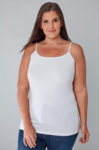 Vests & Camis White Cami Vest Top 132005
