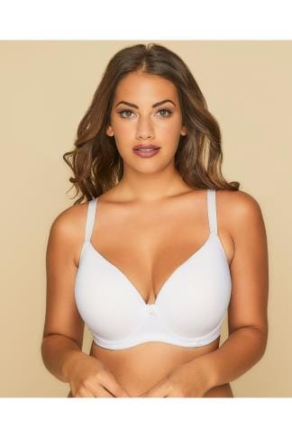 Balconnet White Moulded T-Shirt Bra - Best Seller 055260