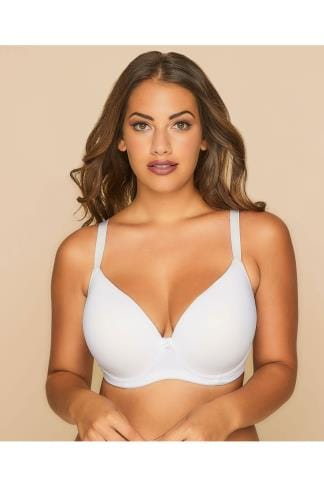 Armature White Moulded T-Shirt Bra 019849