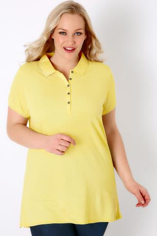 Yellow Polo T-Shirt 132066