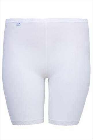 SLOGGI White Basic Long Length Briefs