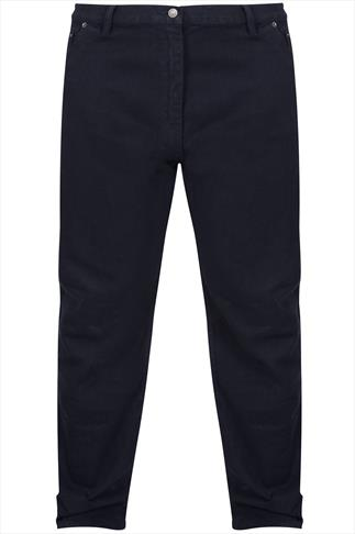 Rockford Black Stretch Jeans - TALL