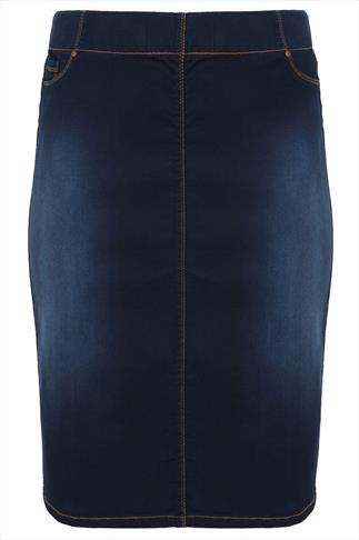 Ladies Plus Size Denim Skirts | Yours Clothing