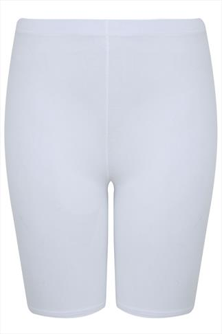 White Legging Shorts