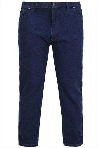 Rockford Dark Denim Blue 5 Pocket Jeans
