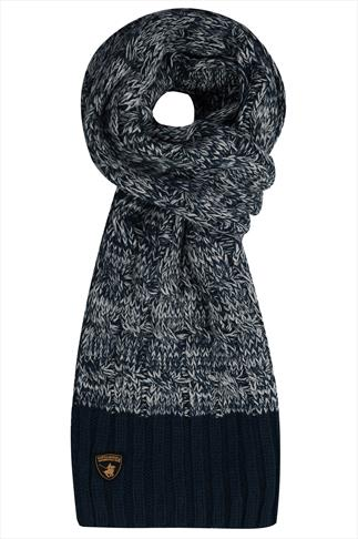 Hats & Scarves SANTA MONICA Navy Knitted Scarf 057183