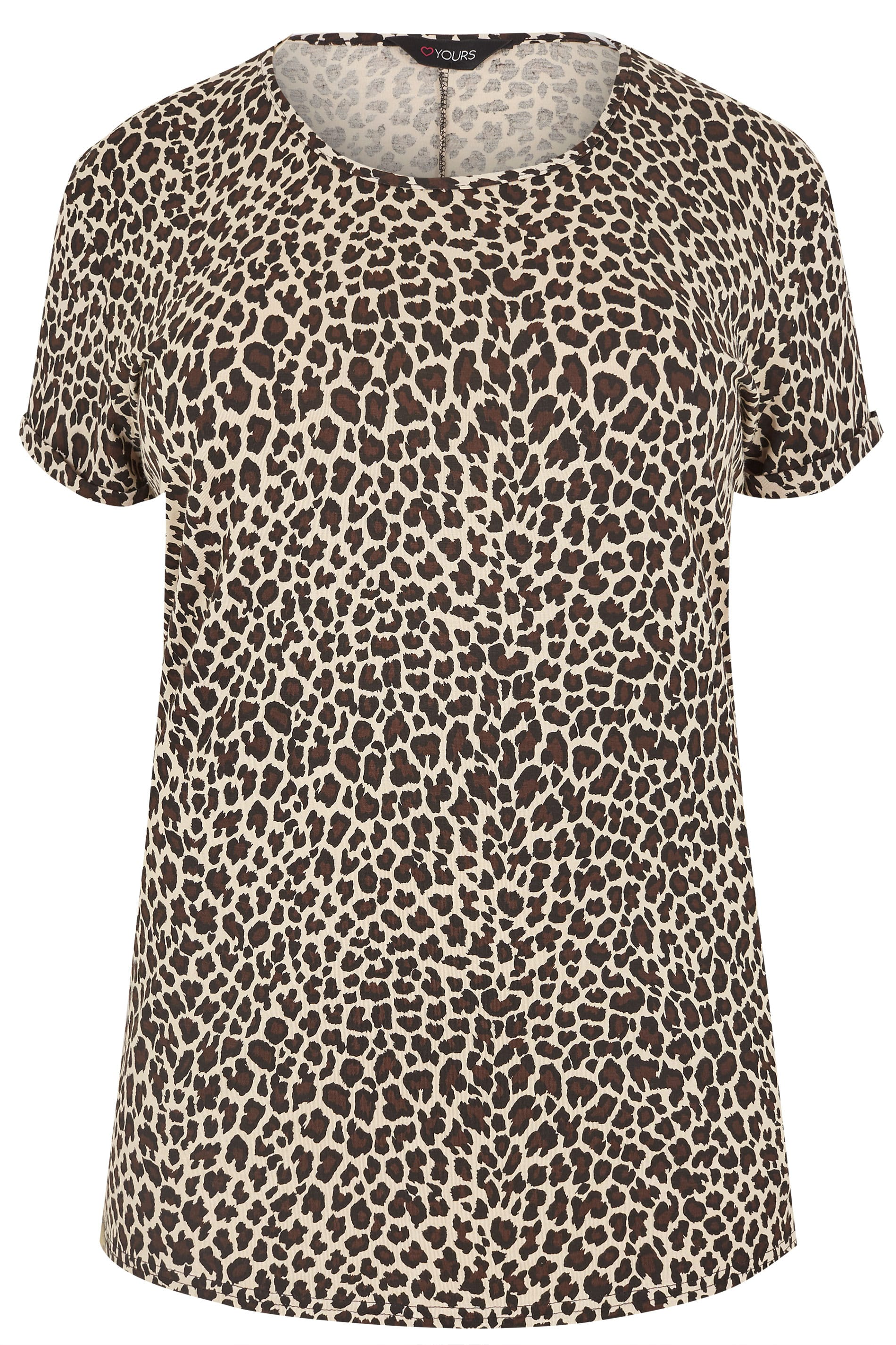 b463e1daebf5 Leopard Print T-Shirt. ‹ › Loading. Catwalk Video. Hover over the images  above to enlarge