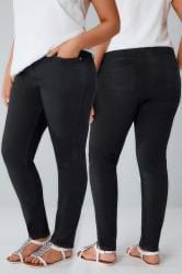 Black Denim Skinny SHAPER Jeans