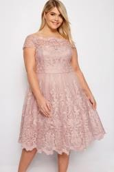 CHI CHI Blush Pink Liviah Dress
