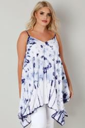 Dark Blue Tie Dye Top