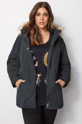Navy Waterproof 3 In 1 Coat