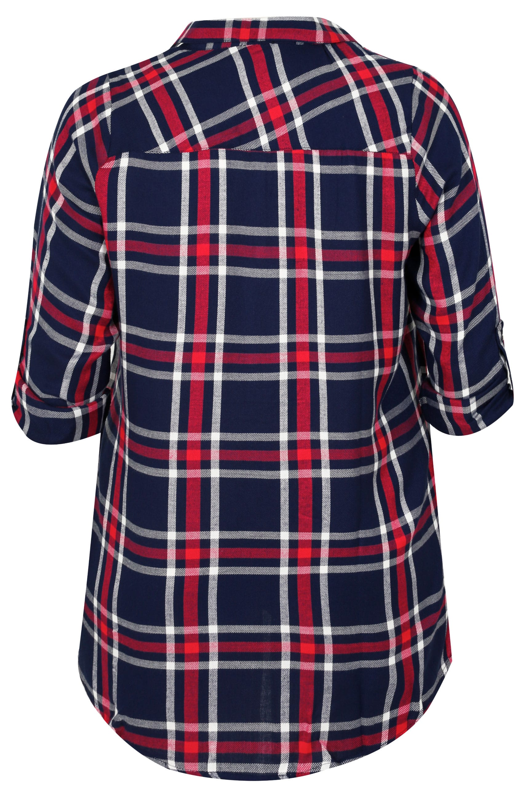 Httpswww Classes Redcross Orgsabawebmain: Navy, Red & White Faux Pearl Embellished Oversized Checked