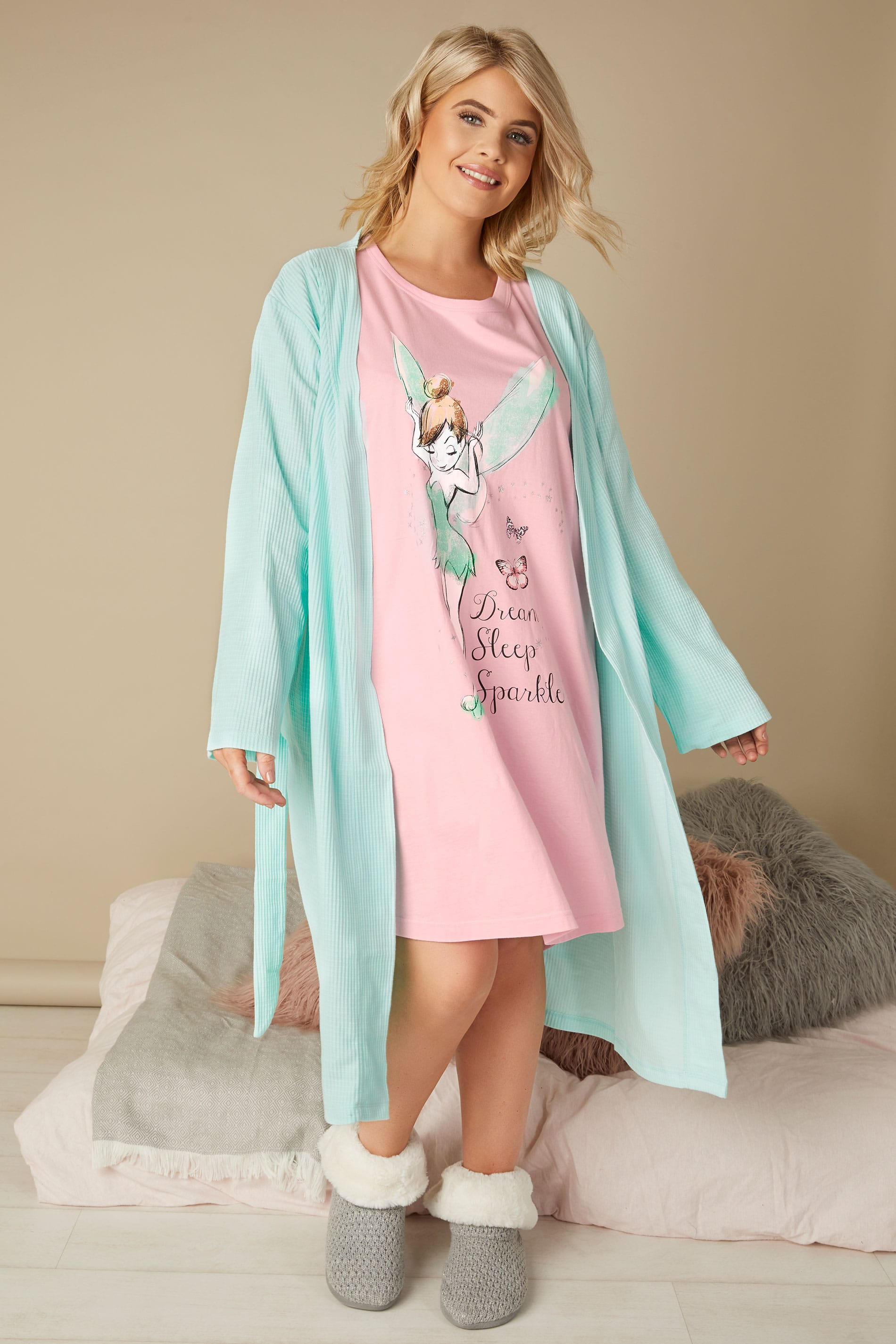 Pink disney tinkerbell 39 dream sleep sparkle 39 print for Sites like touch of modern