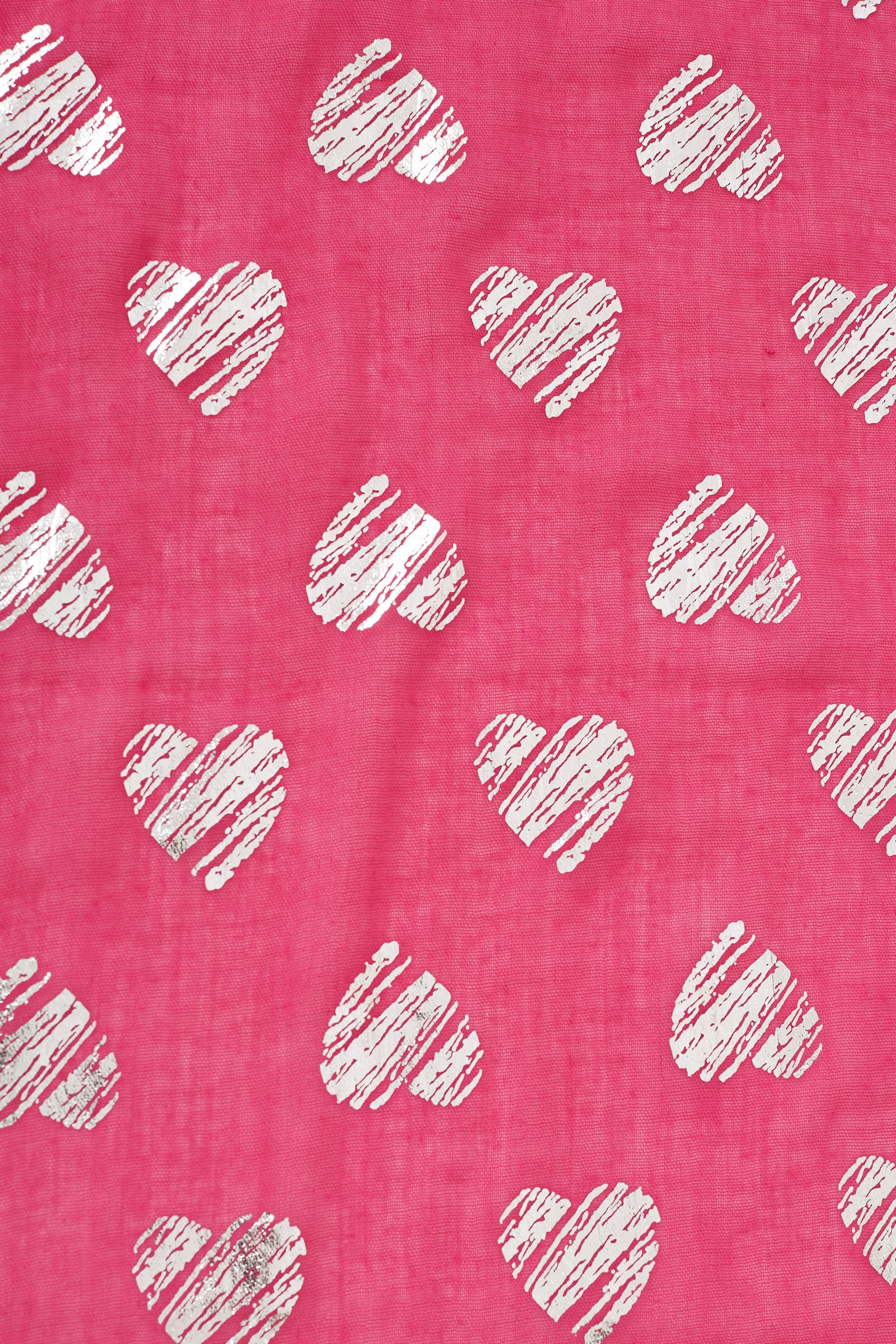 Pink foil heart scarf - Add background image to div ...