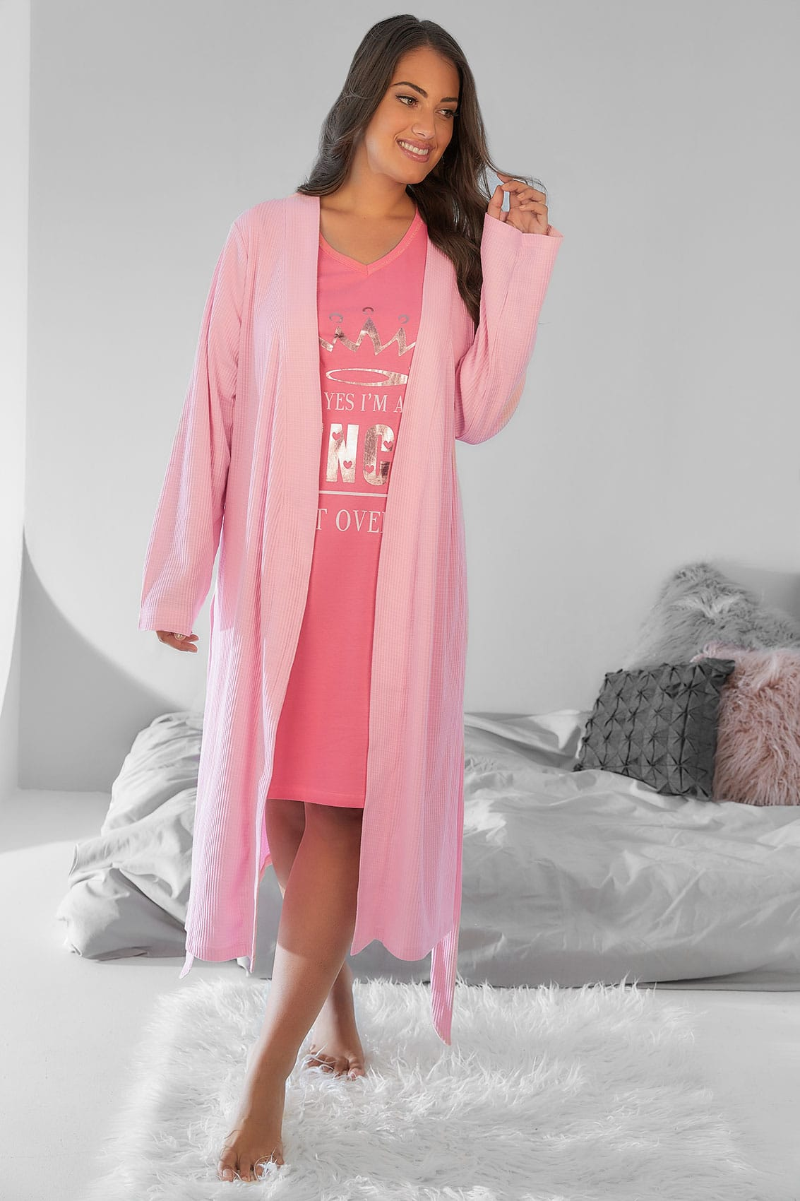 Cotton dressing gown australia plus size