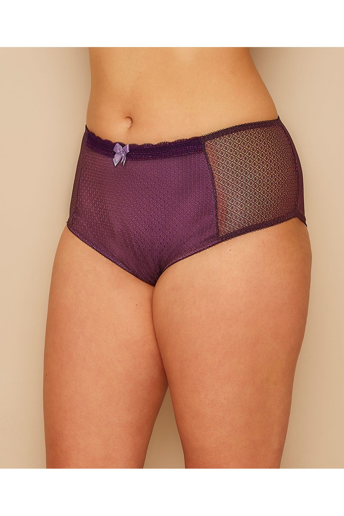 96 Best Images About Nail Polish On Pinterest: Purple Berry Mesh Brief, Plus Size 16 To 36