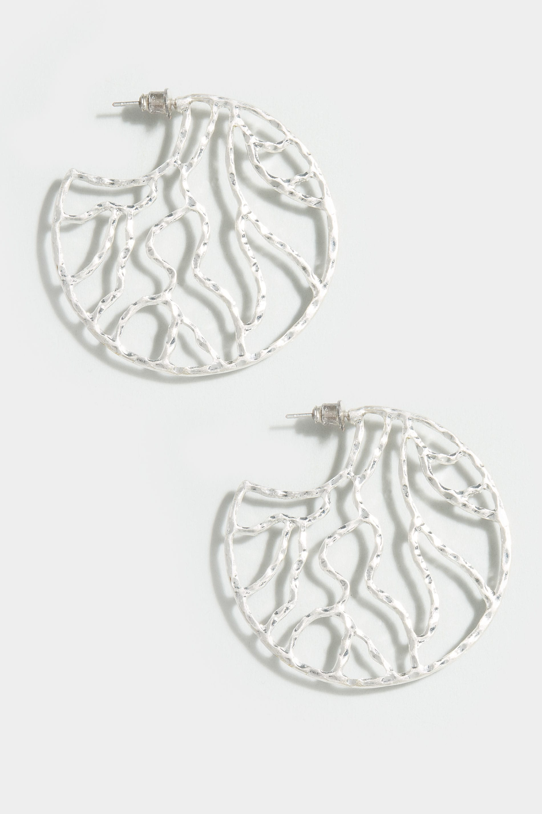 Boucles d 39 oreilles circulaires argent martel for Booking terms and conditions template