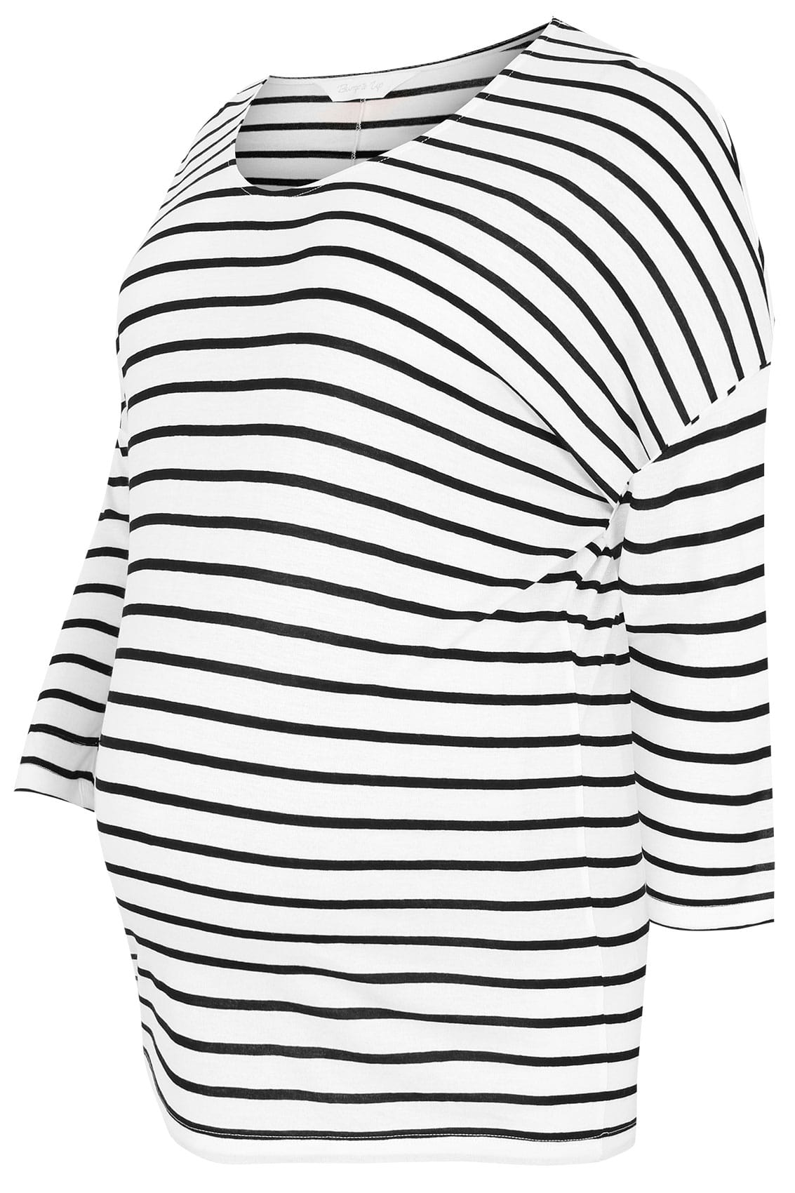 Bump it up maternity top 2 en 1 blanc noir avec for Data item description template