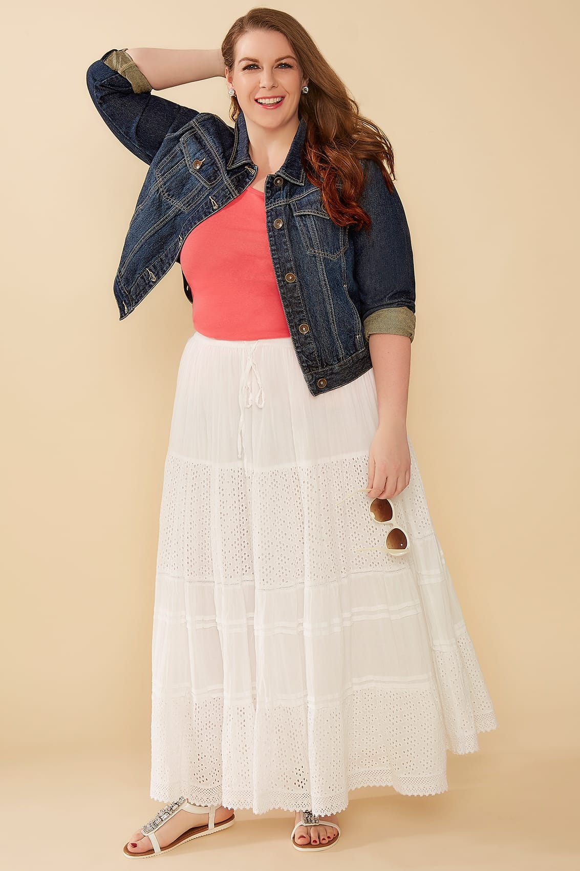 White Skirt Cotton 13