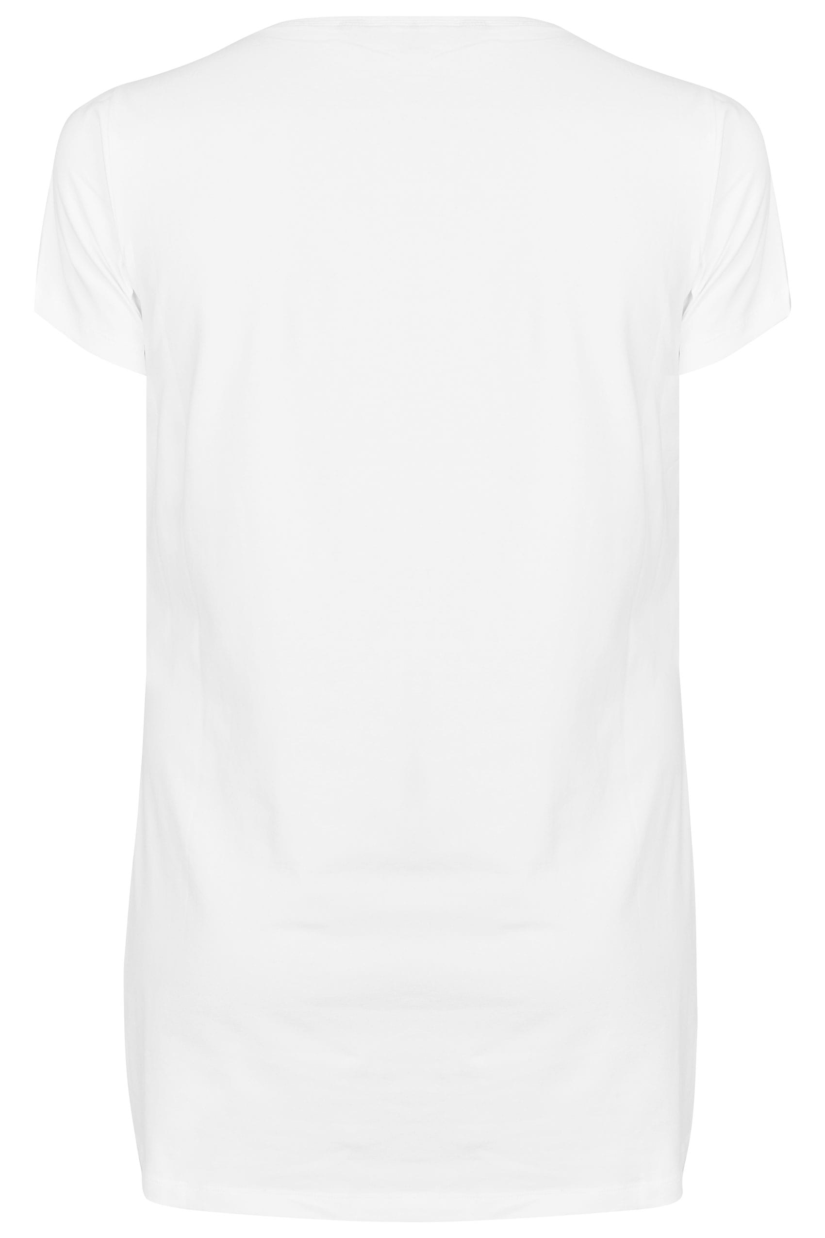 143 305 70httpswww Bing Commapsq Go To Www Bing Com Form Hdrsc4: White Scoop Neck Longline Jersey T-Shirt, Plus Size 16 To 36