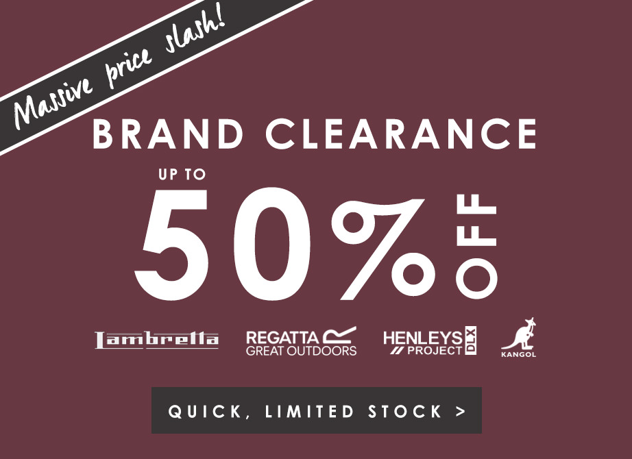 up to 50% off Mens Brands