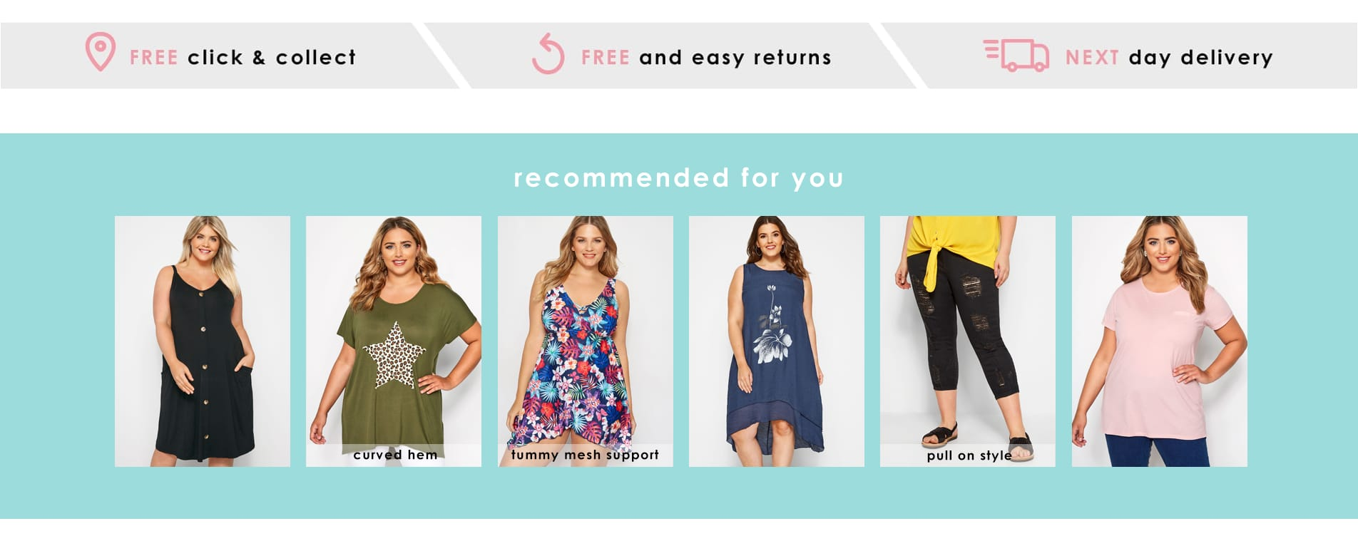 fe3156841888c9 Plus Size Clothing | Women's Curve & Plus Size Fashion | Yours Clothing