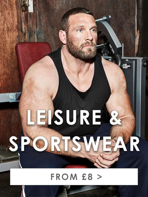 Big & Tall Men's Leisurewear >