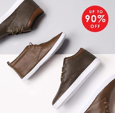 Shop Men's Footwear >