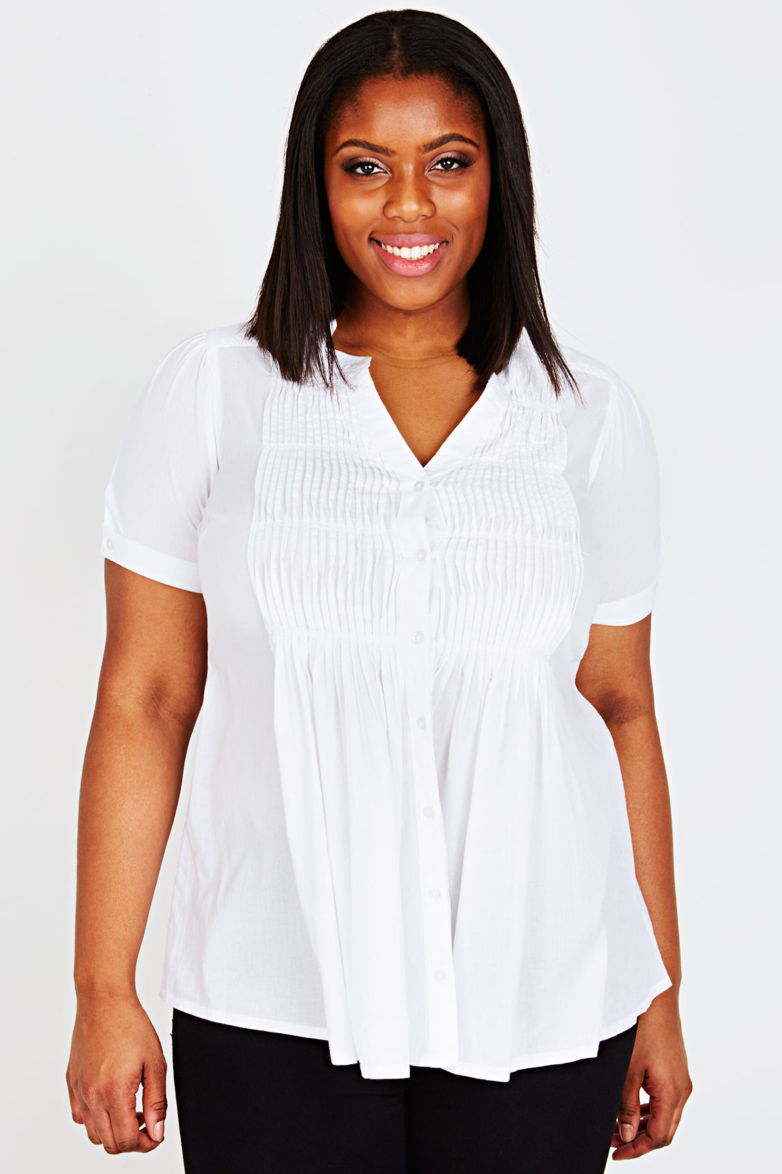 Find a full collection of Women's Plus Size Tops,Plus Size Shirts & Blouses in modern and classic styles, also find plus size dresses, jeans, career, pants, shirts, sweaters, coats and more.