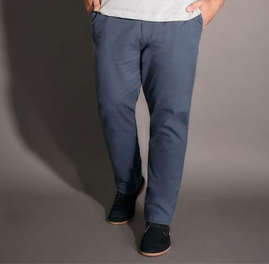 Shop Big and Tall Men's Chinos >