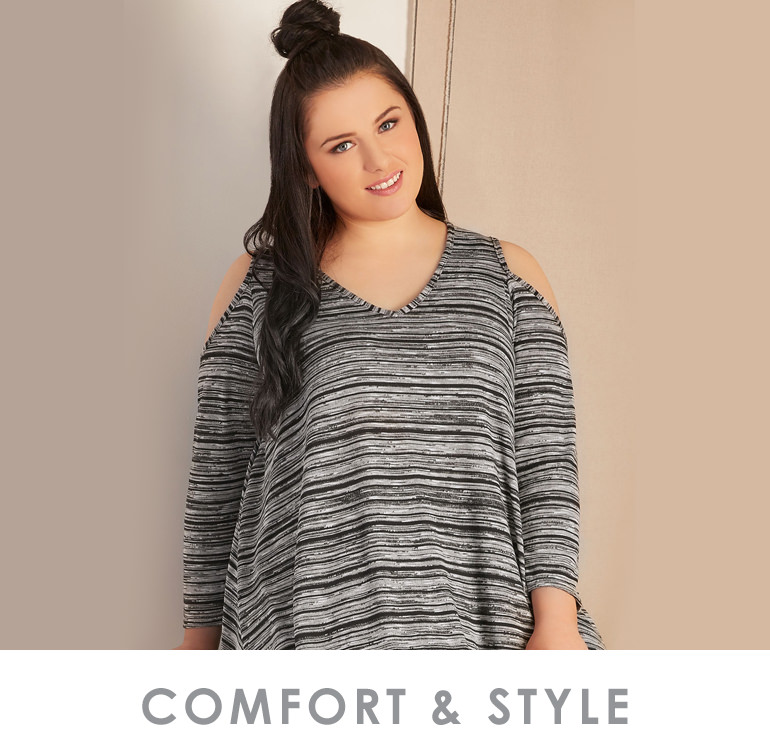 Shop Comfort & Style >