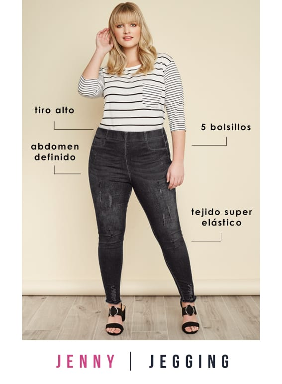 Plus Size Jeggings >