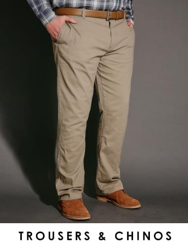 Shop Men's trousers and chinos >