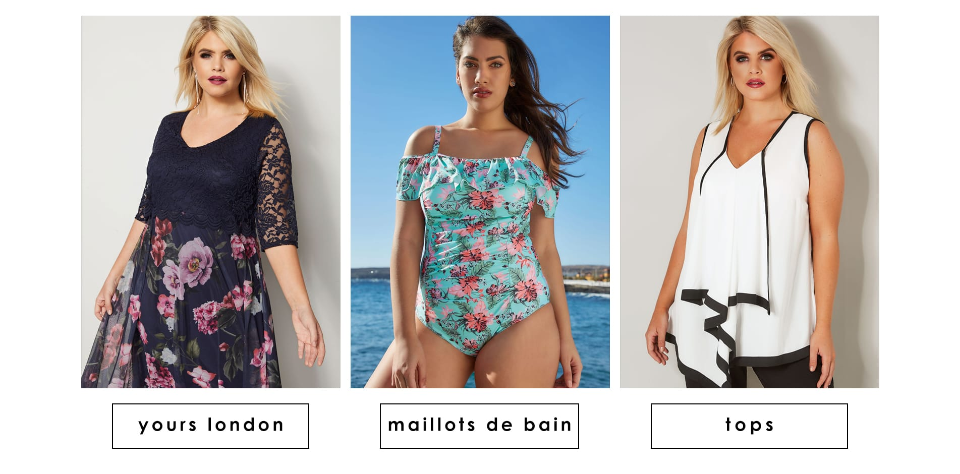 Yours london Maillots de Bain et tops