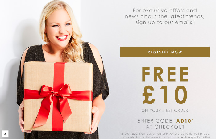 Free £10 on your first order >