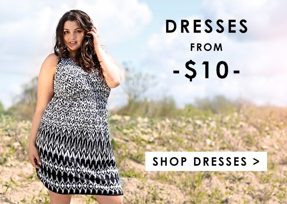 Shop Dresses from $10 >