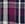 Purple, Grey & Navy Checked Shirt With Pin-Tuck Front & Metallic Thread