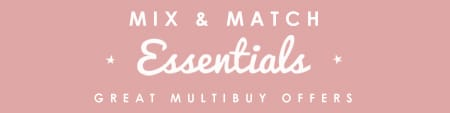 Mix & Match Yours Essentials
