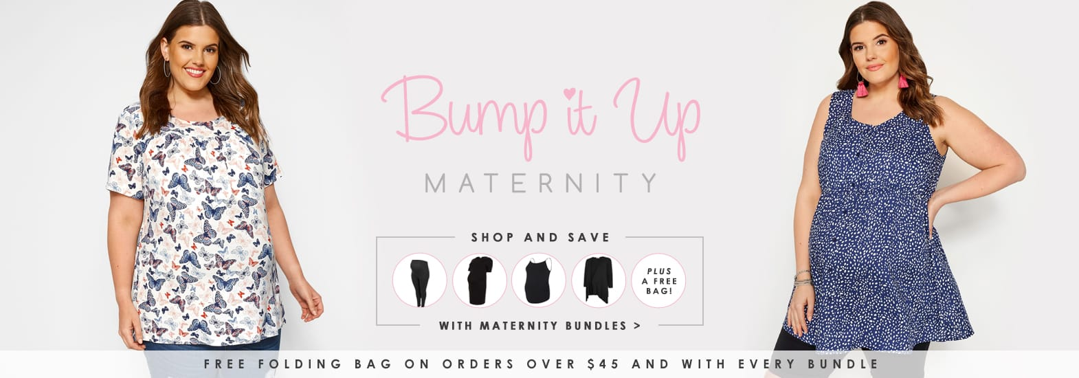 Bump It Up, Plus Size Maternity Fashion >