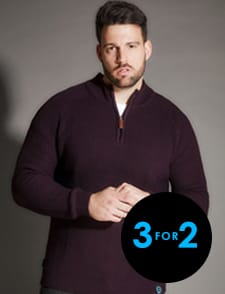 3 for 2 on Knitwear >